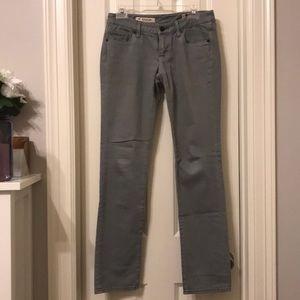Express X2 Skinny W01 Ultra Low Rise Jeans Size 4